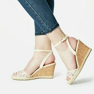 Just Fab Kenzie Wedge Sandals
